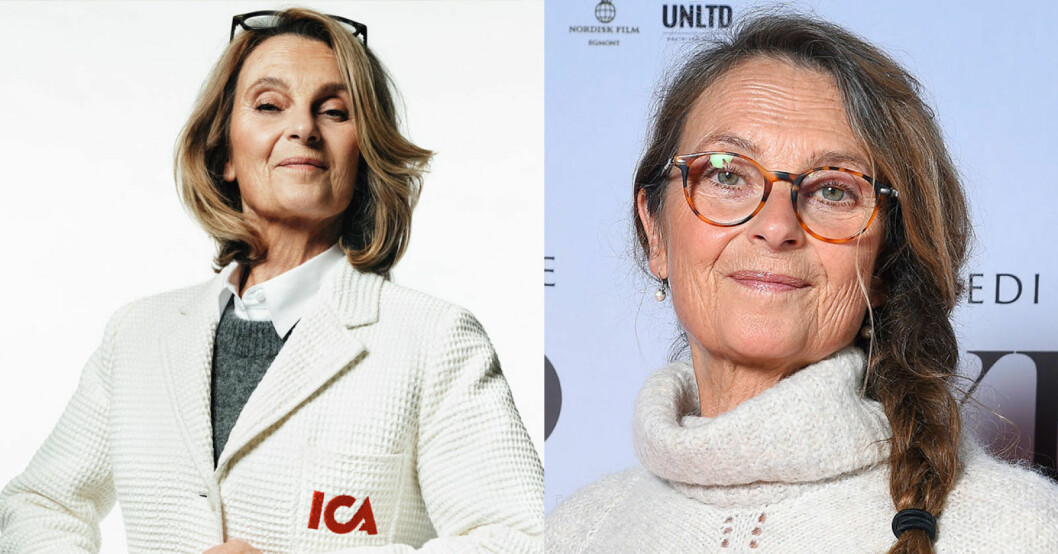 Suzanne Reuters hemliga uppgörelse med Ica där hon spelar Ica-Stina