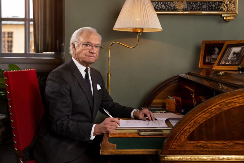 Kungen Kung Carl Gustaf Drottningholm Drottningholms slott