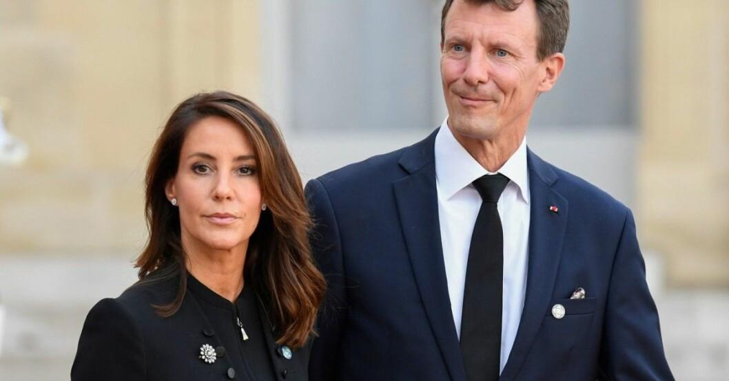 Prinsessan Marie hade det tufft när hon fick vårda prins Joachim efter blodproppen