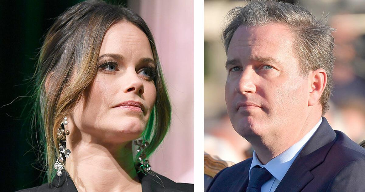 Chris ONeill och prinsessan Sofia syns tillsammans på hemliga bilder