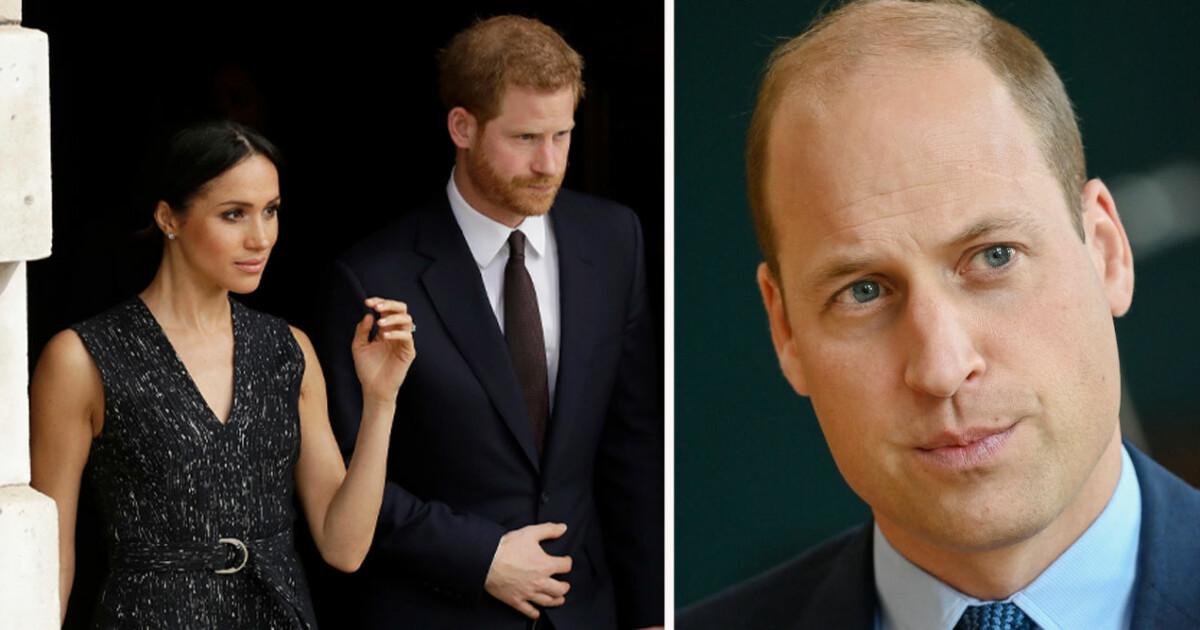 Prins Williams stora ilska – markerar mot Meghan i uttalande