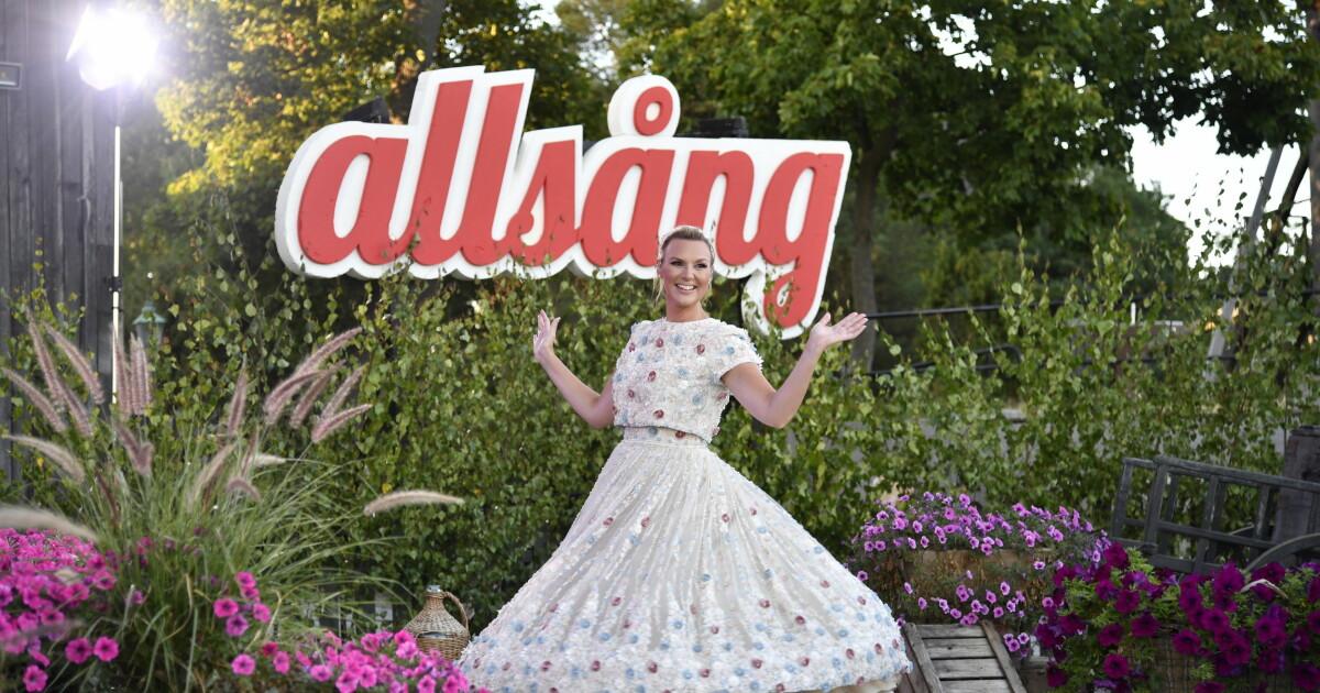 SVT om Sanna Nielsen i Allsång på Skansen 2021   Svensk Dam