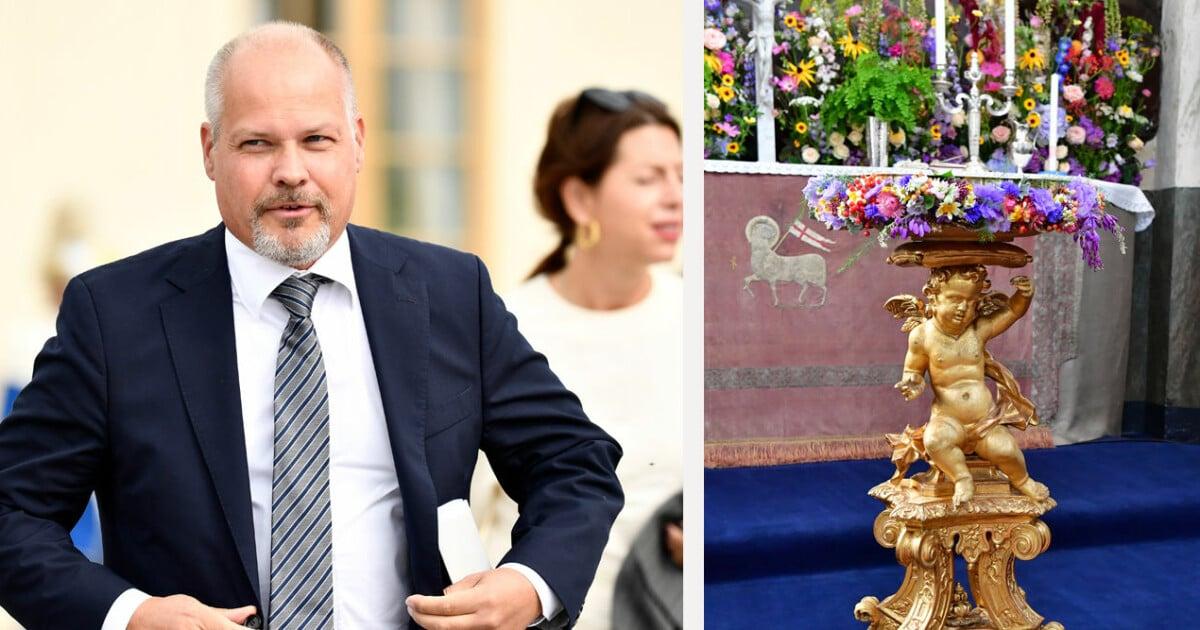 Regeringens gåva till prins Julian – efter att Stefan Löfven nobbat dopet
