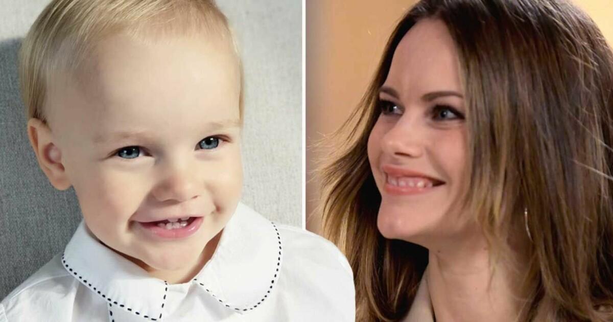 Lillprinsen Julians charmiga leende – på nya bilderna efter kungliga dopet