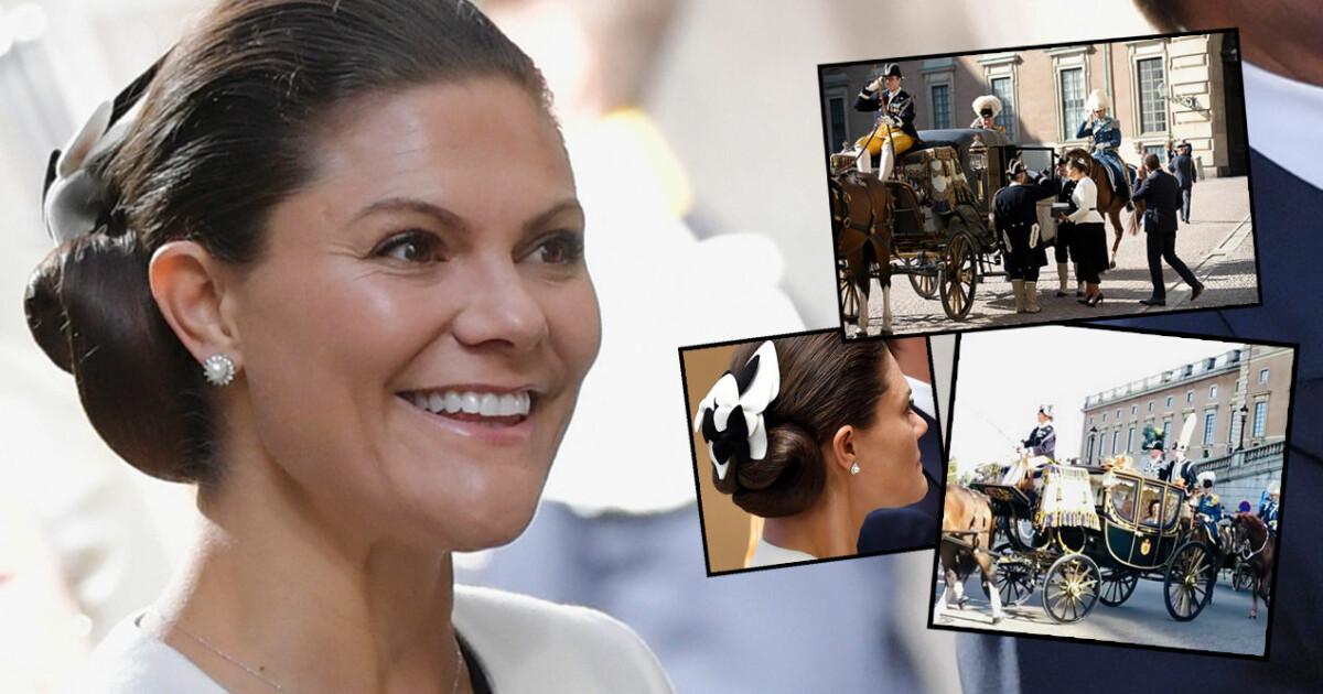 Bildextra: Victorias underbara comeback – kronprinsessan strålar på nya bilderna