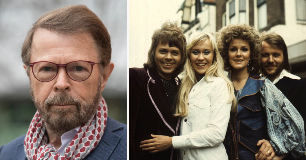 Björn Ulvaeus, Benny Andersson, Anni-Frid Lyngstad och Agnetha Fältskog