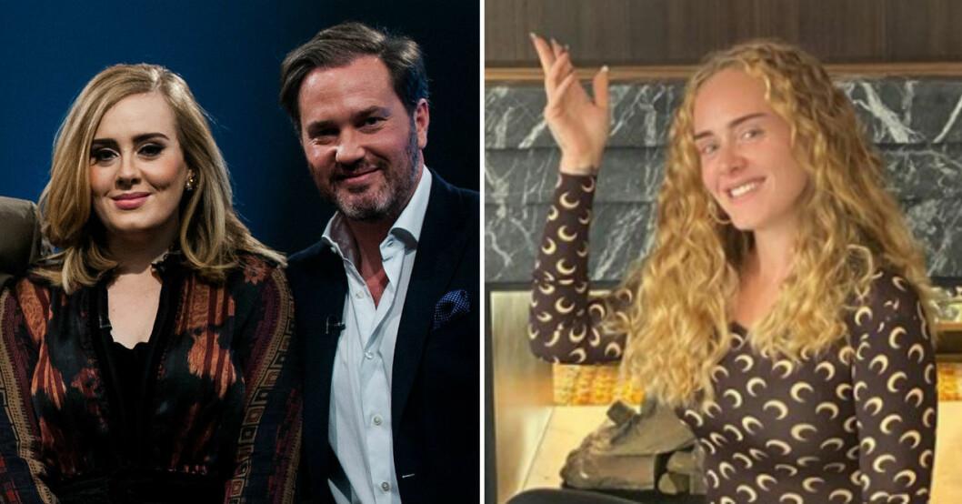 Sångerskan Adele har genomgått en totalomvandling sedan mötet med Chris i Skavlan.