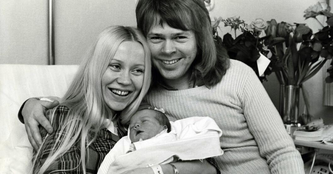 Agnetha Fältskog, Björn Ulvaeus och Linda Ulvaeus