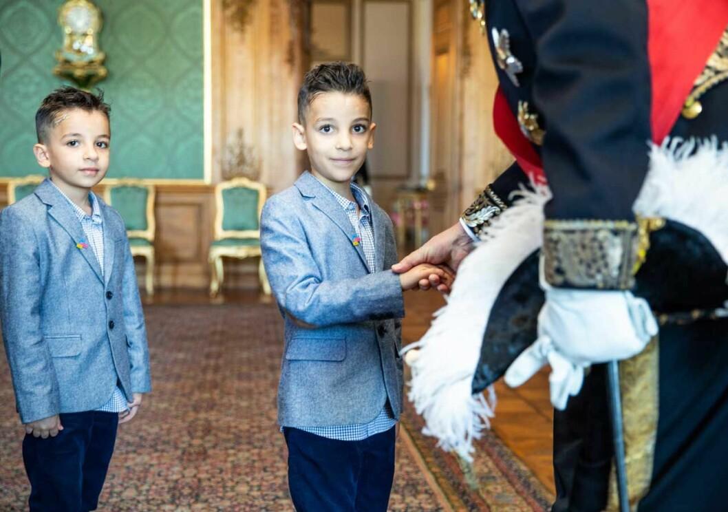 Leukemisjuke Akram fick träffa kungen på slottet, tack vare Min Stora Dag.