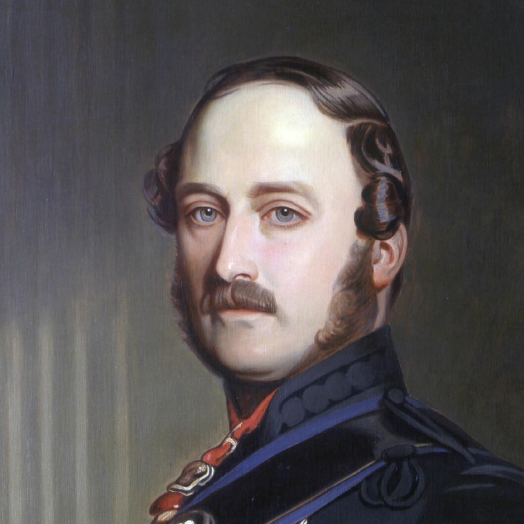 Drottning Victorias man prins Albert två år före sin död.