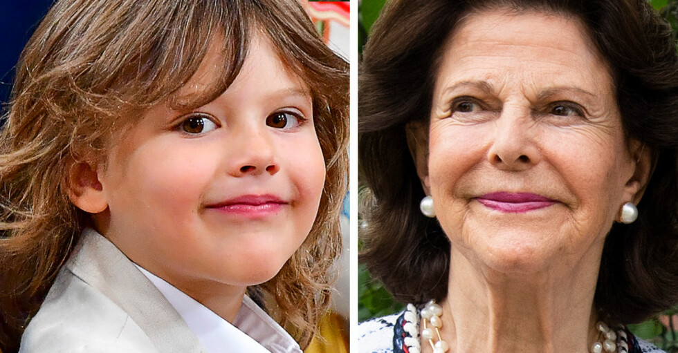 Prins Alexander Drottning Silvia