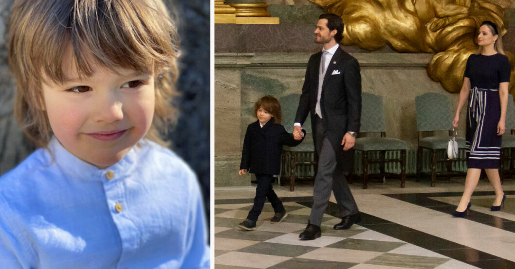 Prins Alexander, prins Carl Philip och prinsessan Sofia