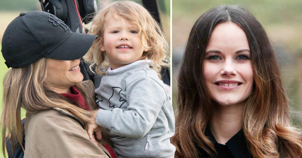 Prinsessan Sofia med prins Alexander
