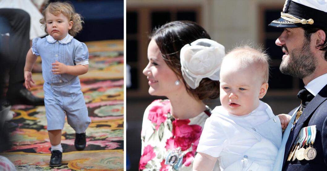 bilderna som visar hur olika prins alexander och prins gabriel är