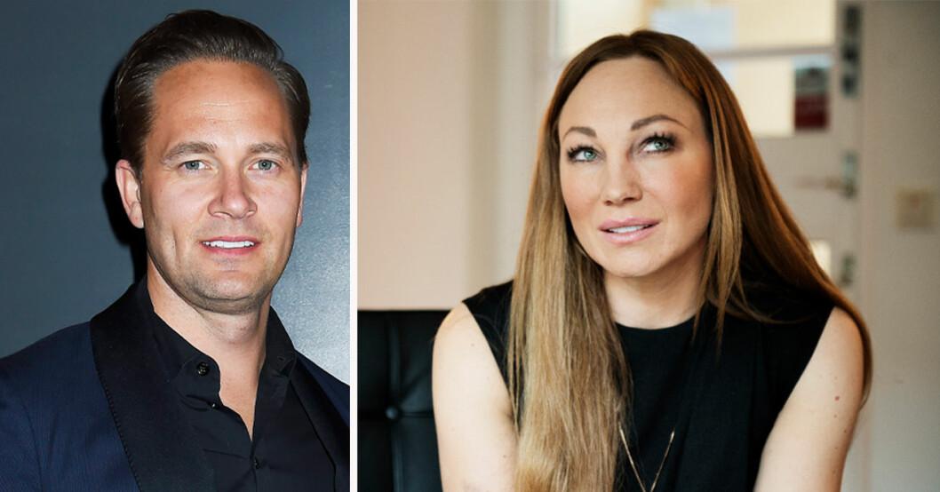Anders Jensen och Charlotte Perrelli