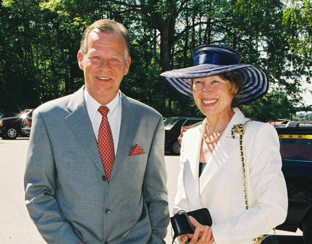 Anders Wiklöf med sin fru Rita.
