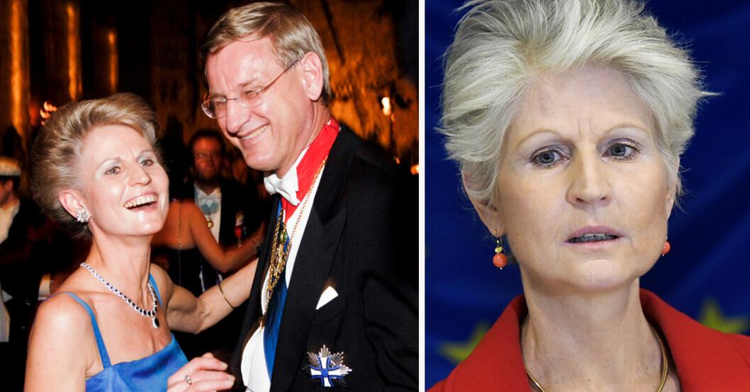 Anna Maria Corazza Bildt och Carl Bildt