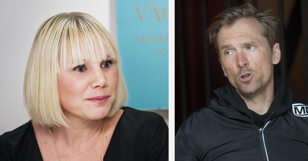 Anna Olsson och Johan Olsson