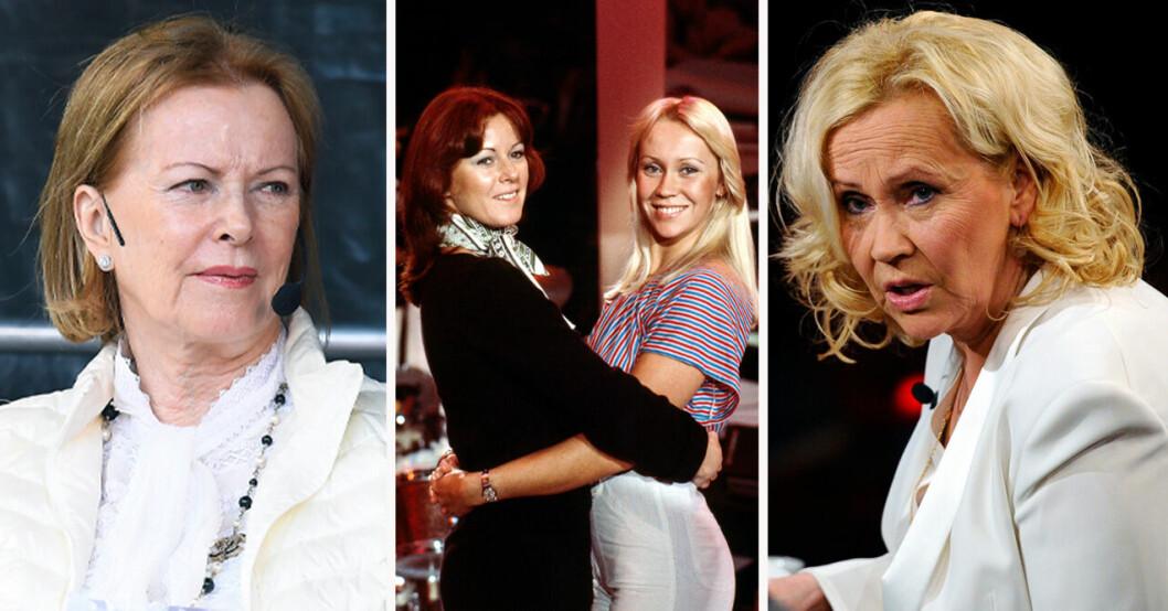 Anni-Frid Lyngstad och Agnetha Fältskog