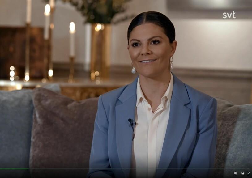 Året med kungafamiljen 2020 SVT Kronprinsessan Victoria hemma Haga slott