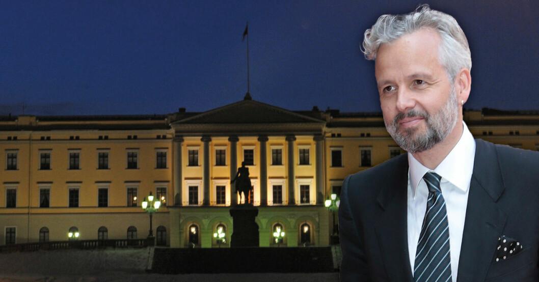 Ari Behn får inte flaggan hissad på norska slottet