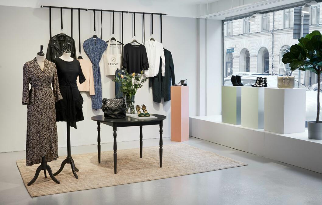 Arkivet Stockholms butik på Östermalm