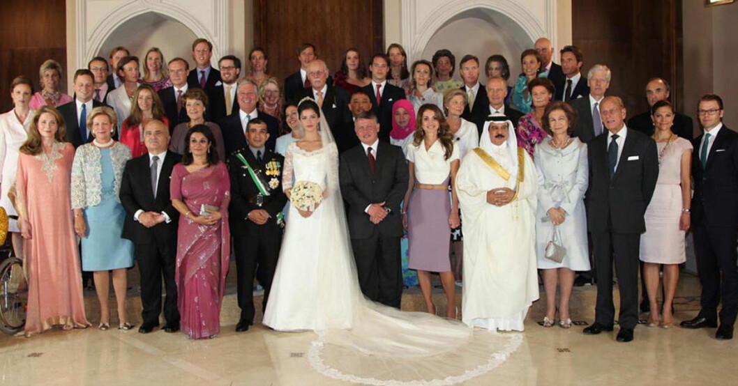 Bahrains kungafamilj Jordaniens kungafamilj Kronprinsessan Victoria Prins Daniel