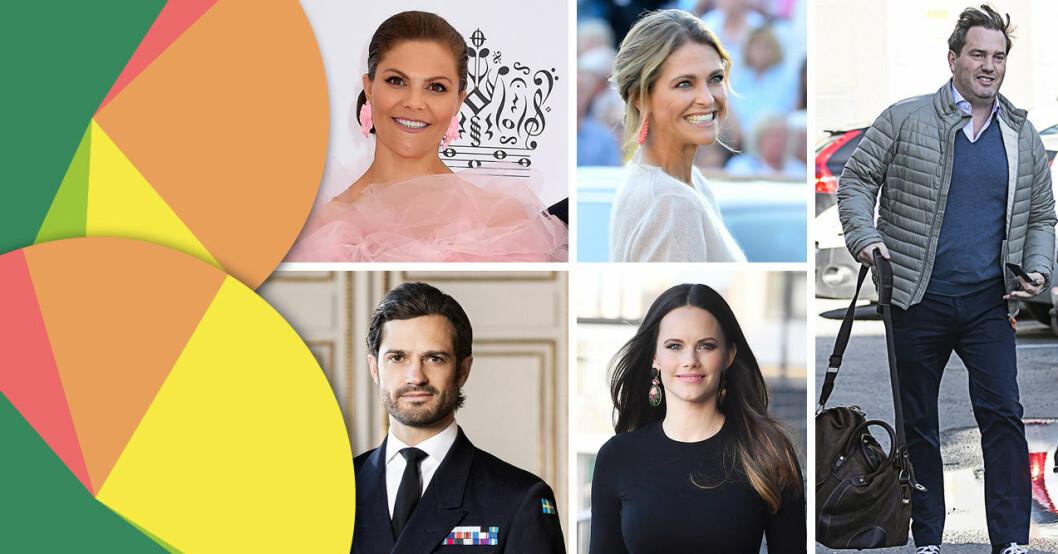 Vem i den svenska kungafamiljen klär sig bäst? Sifo-undersökning med Svensk Damtidning