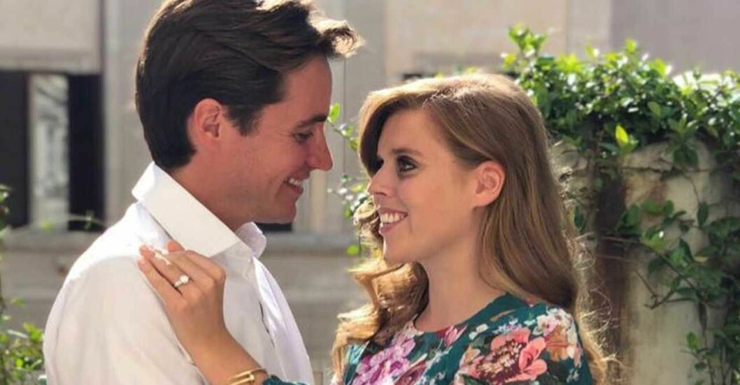 Prinsessan Beatrice och Edoardo Mapelli Mozzi.