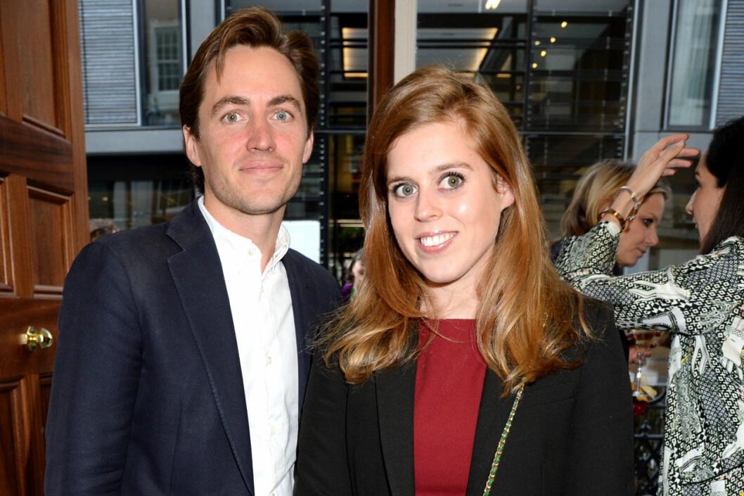 Prinsessan Beatrice och Edoardo Mapelli Mozzi förlovade sig i september 2019