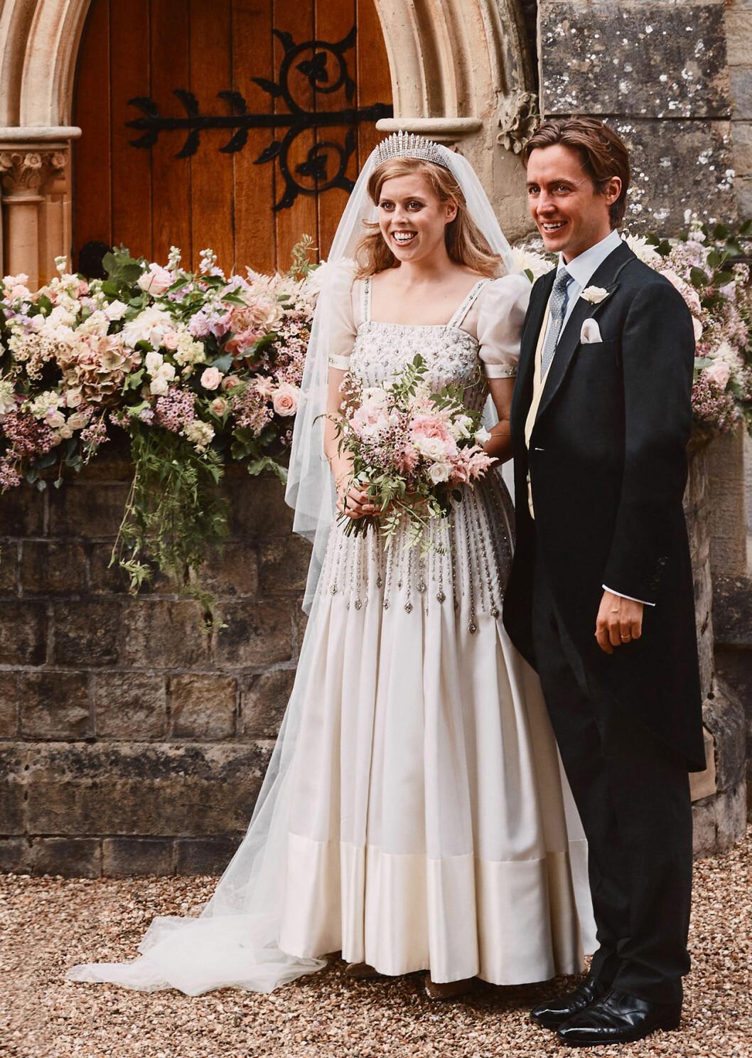 Prinsessan Beatrice och Edoardo Mapelli Mozzis bröllop.