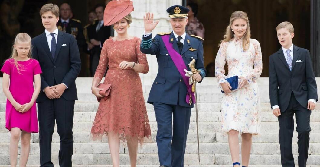 belgiska kungafamiljen