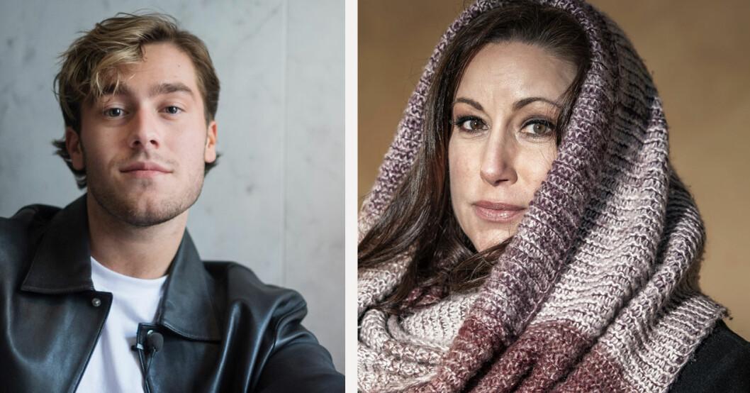 Benjamin Ingrosso och Lisa Nilsson