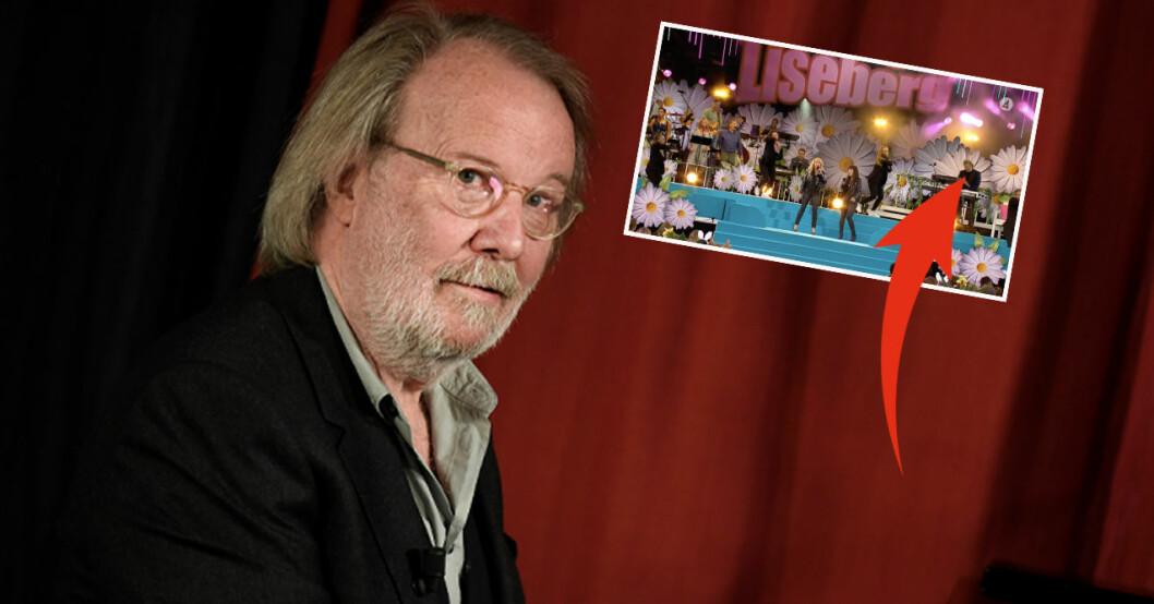Benny Andersson, Nanne Grönvall, Maria Rådsten och Peter Grönvall