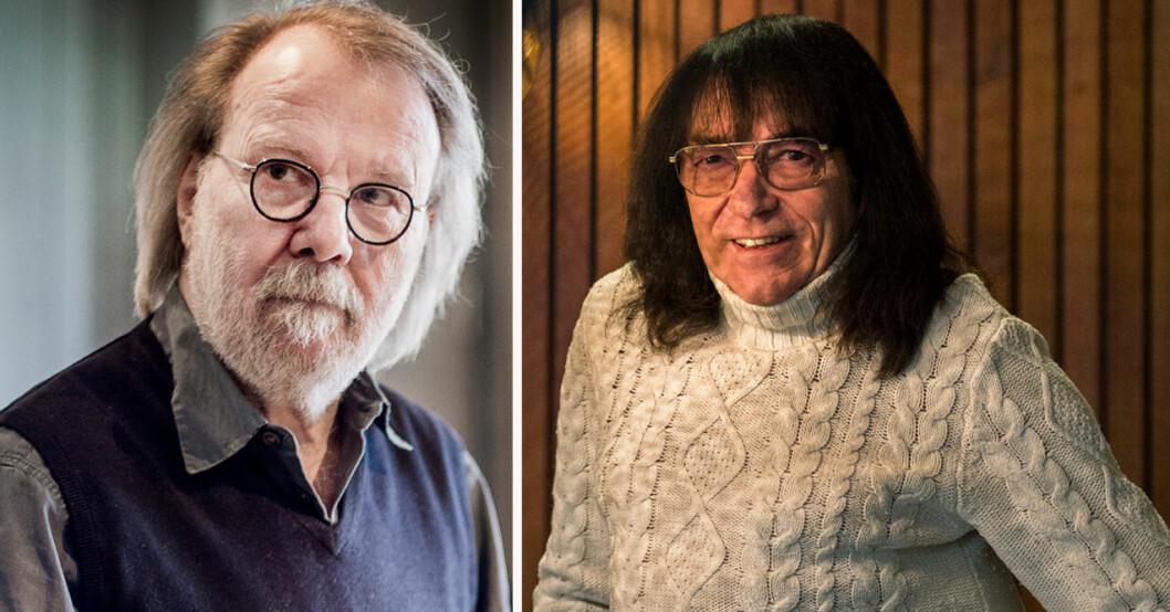 Benny Andersson och Svenne Hedlund
