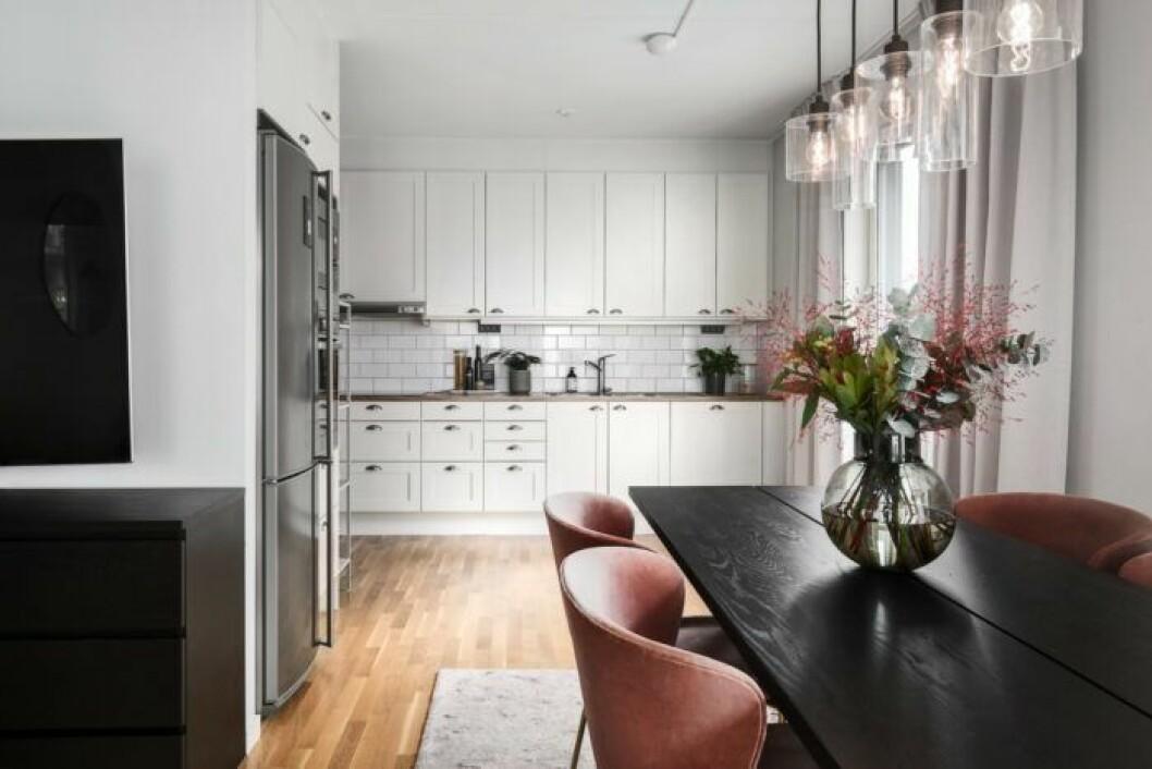 Bianca Ingrosso säljer sin lägenhet, kök