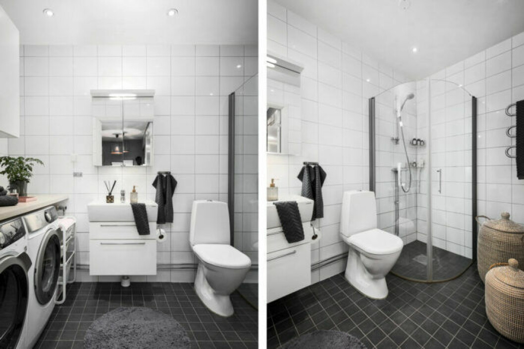 Bianca Ingrosso säljer sin lägenhet, badrum