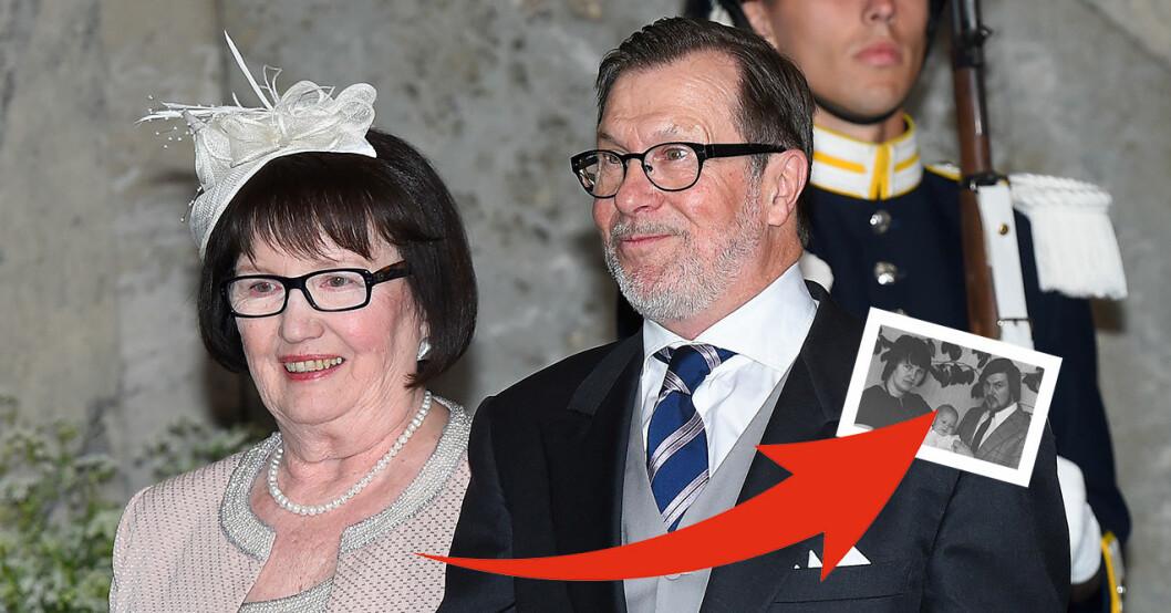 okända bilden på prins daniels mamma ewa westling