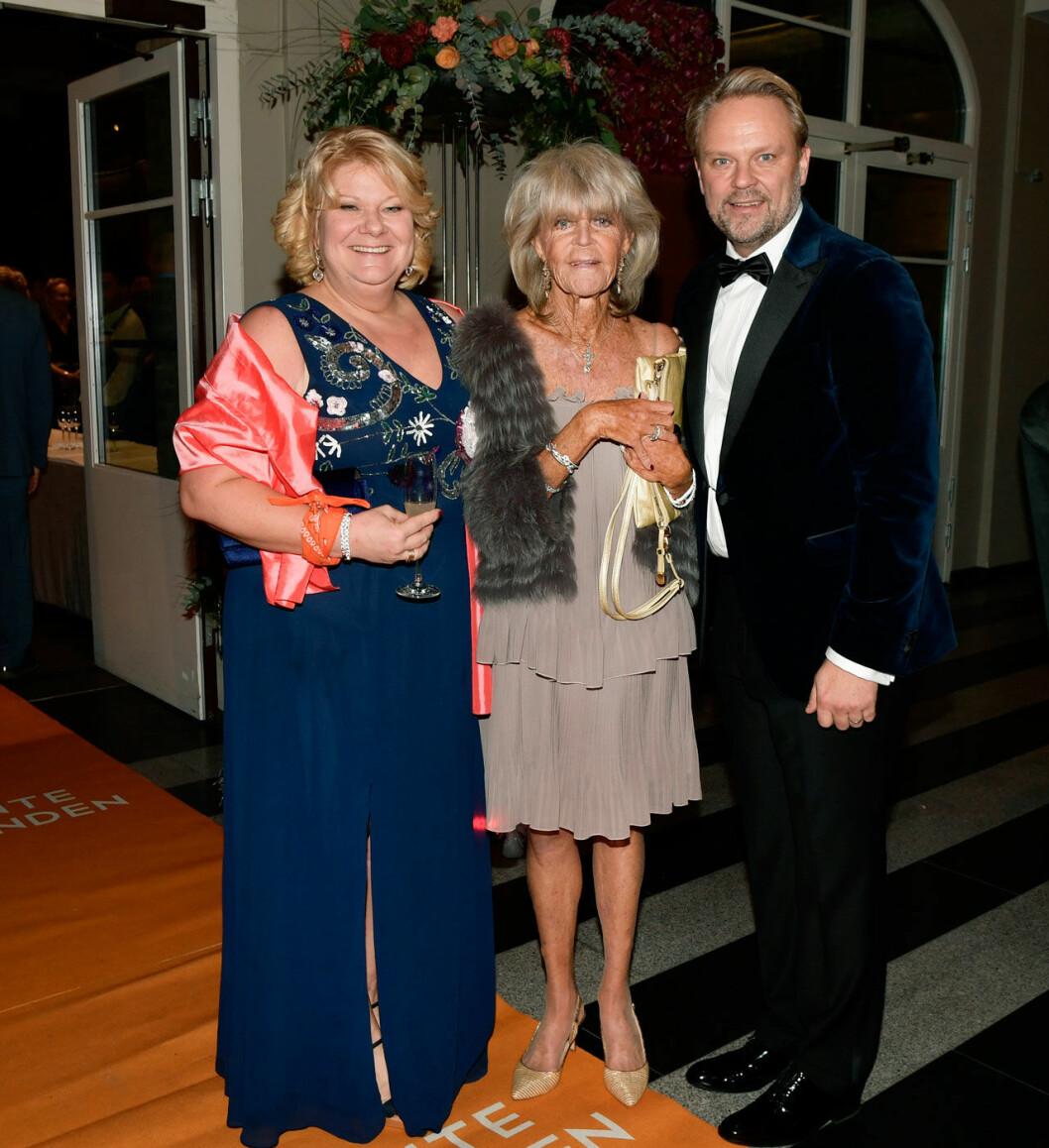 Prinsessan Birgitta vid Jontefondens galakväll i Göteborg.