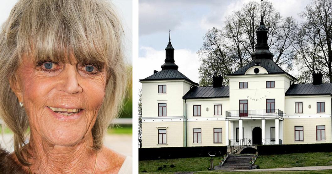 Prinsessan Birgitta på slottet Stenhammar