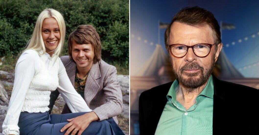 Agnetha Fältskog och Björn Ulvaeus