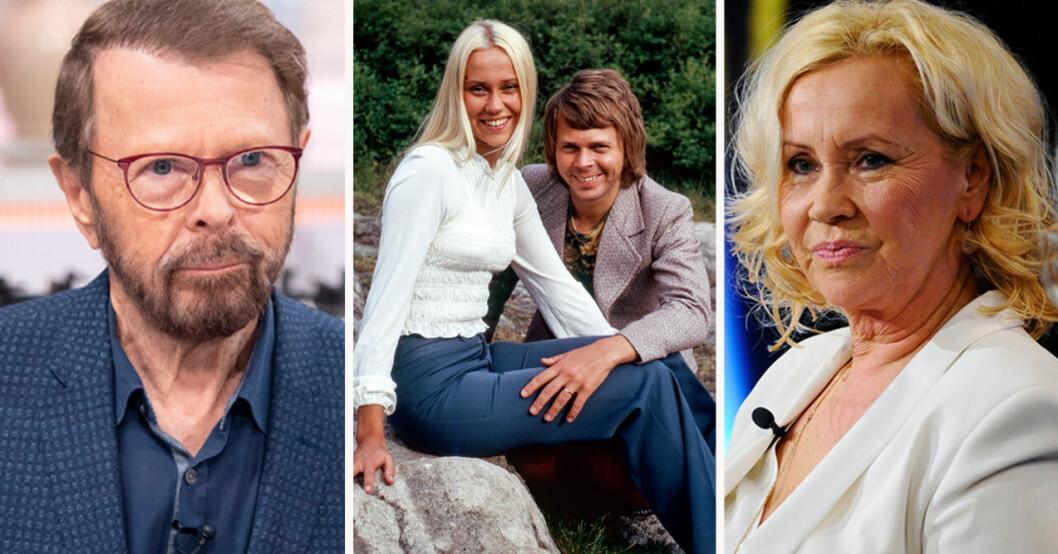 Björn Ulvaeus och Agnetha Fältskog