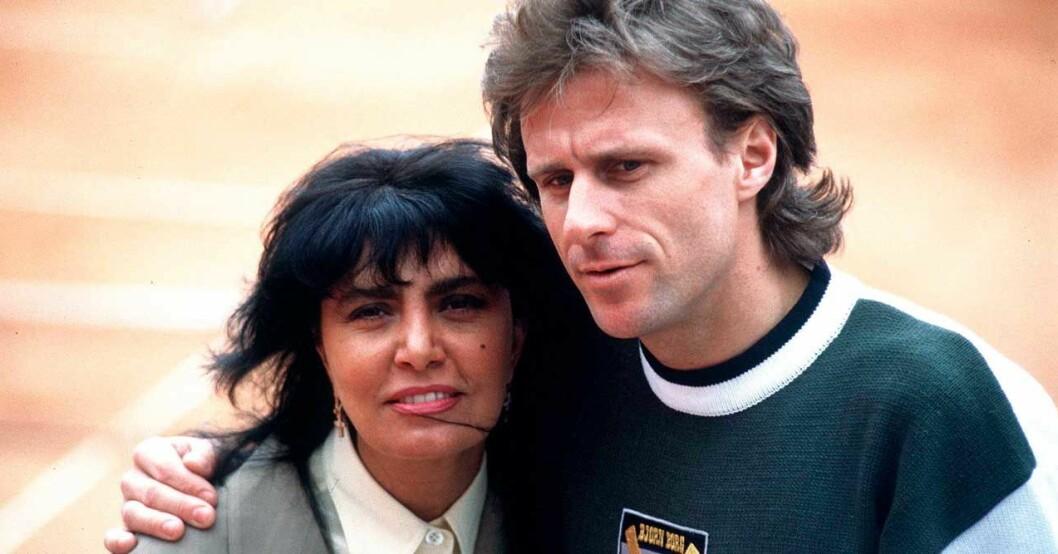 Björn Borg och Loredana Berté