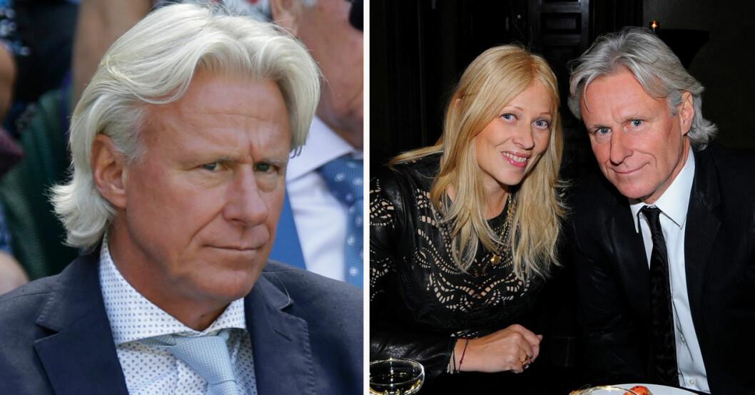 Björn Borg och Patricia Östfeldt