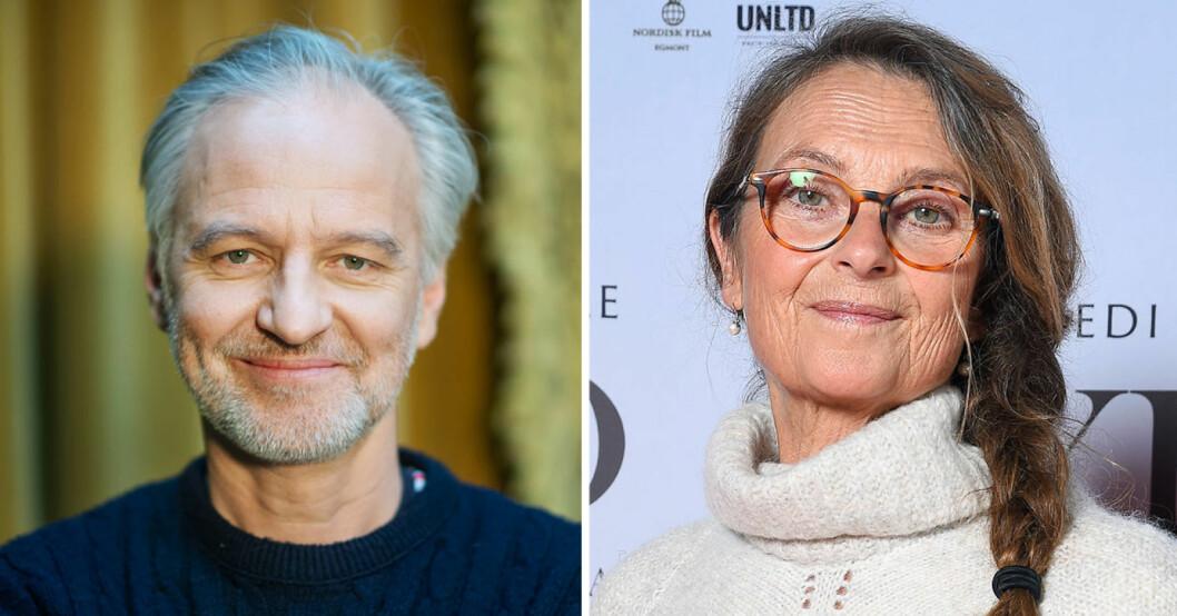 Björn Kjellman och Suzanne Reuter