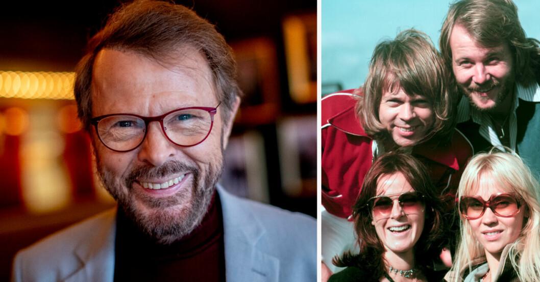 Björn Ulvaeus, Agnetha Fältskog Anni-Frid Lyngstad och Benny Andersson