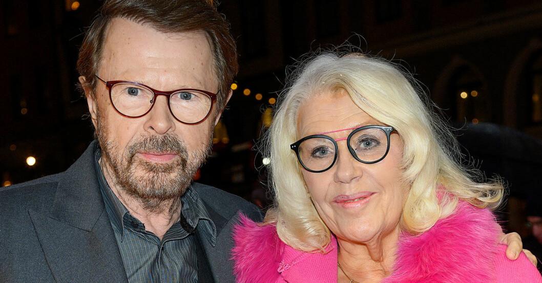 Björn Ulvaeus och frun Lena har varit gifta sedan 1981.
