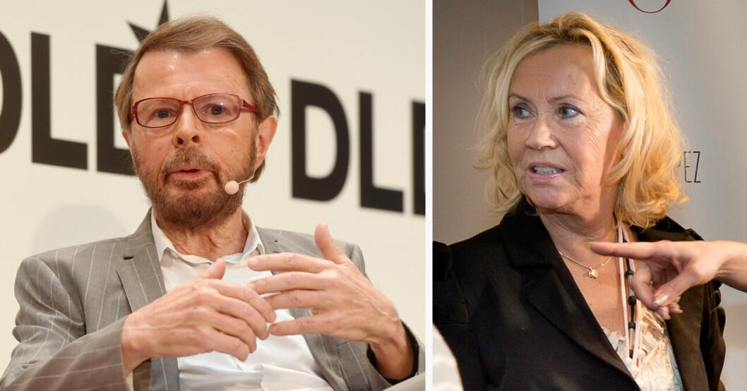 Björn Ulvaeus och Agnetha Fältskog ABBA återförening