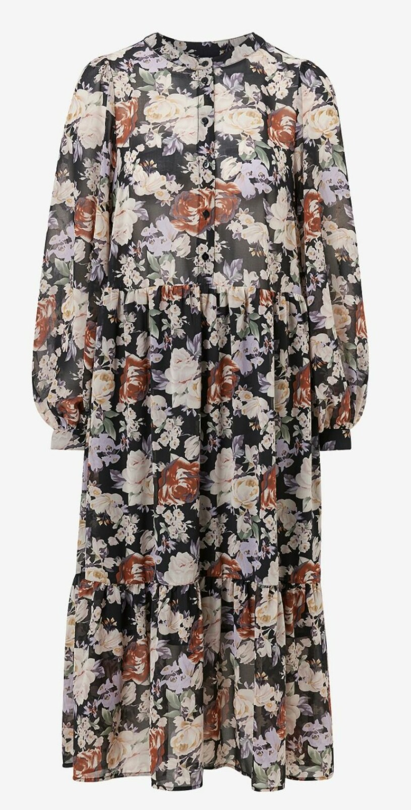Blommig klänning Ellos
