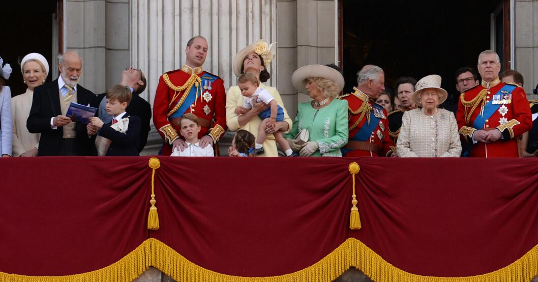 Brittiska kungafamiljen Prinsessan Marie Christine av Kent sjuk i corona